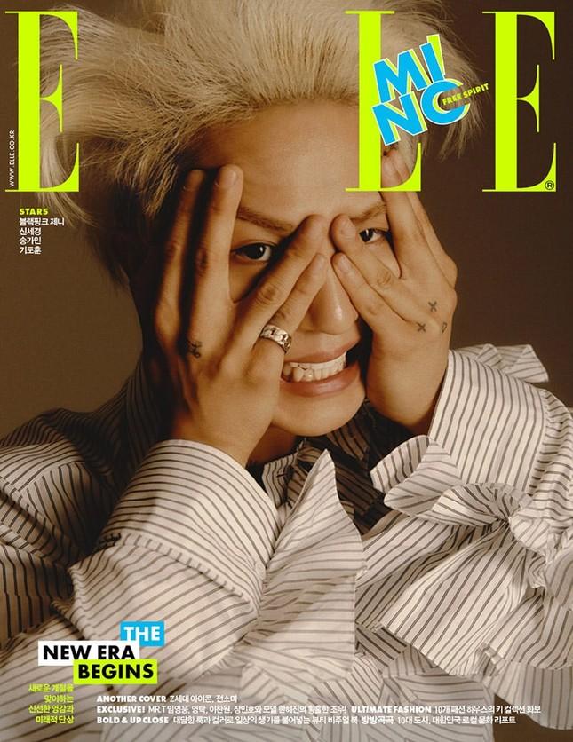 Jeon Somi vừa xinh đẹp cuốn hút, vừa tinh nghịch đáng yêu trên bìa ELLE Hàn tháng 9 ảnh 4