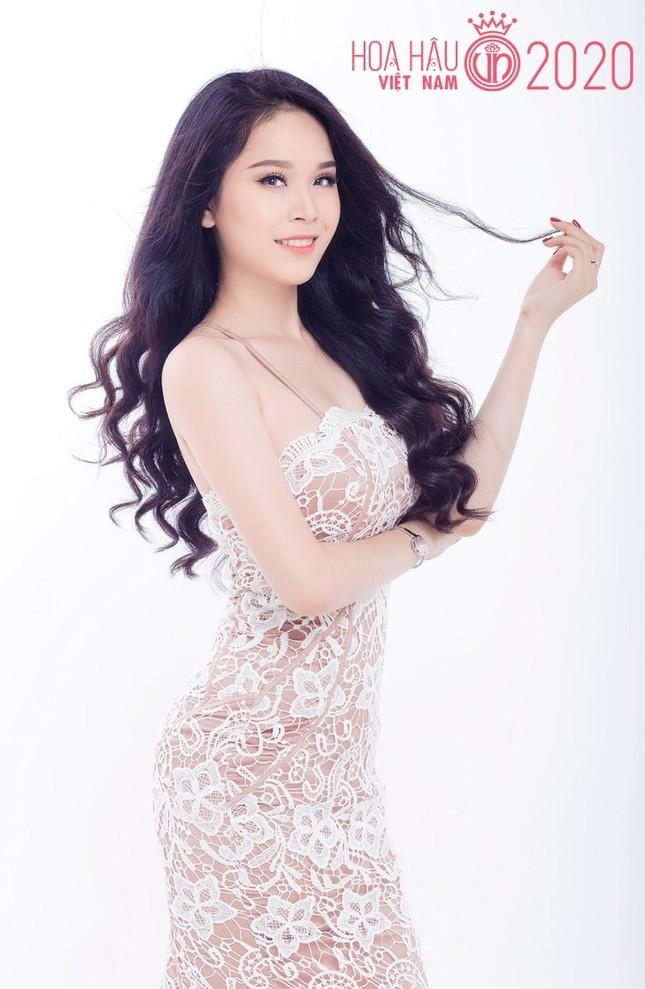 Hotgirl 9x từng tham gia MV Hồ Quang Hiếu được chú ý khi dự thi Hoa hậu Việt Nam ảnh 2