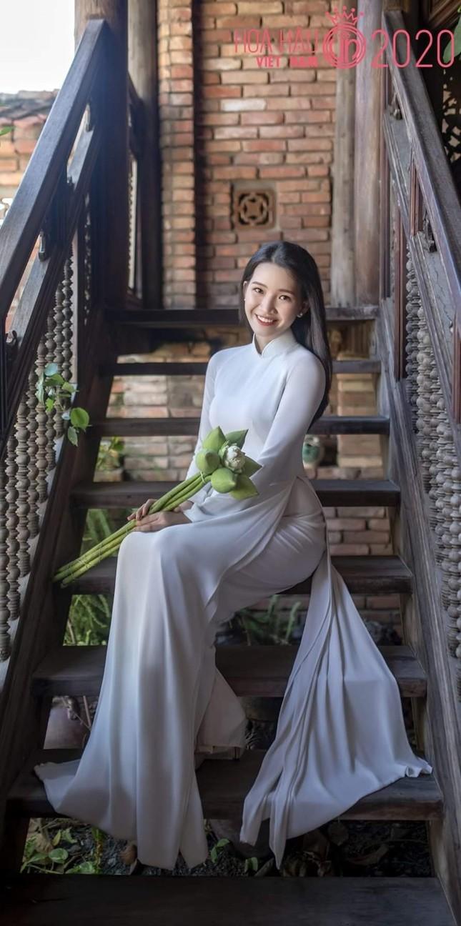 Phương Tuyết - thí sinh Hoa hậu Việt Nam khu vực miền Tây có đôi mắt 1 mí ấn tượng ảnh 6