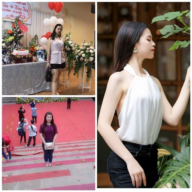 Minh Thư - cô gái giảm 17kg để sở hữu vòng eo 57cm trong dàn thí sinh Hoa hậu Việt Nam ảnh 2