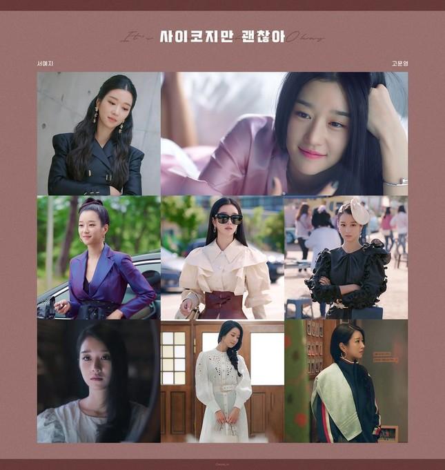 """71 bộ trang phục siêu sang chảnh làm nên tên tuổi Seo Ye Ji trong """"Điên Thì Có Sao"""" ảnh 2"""