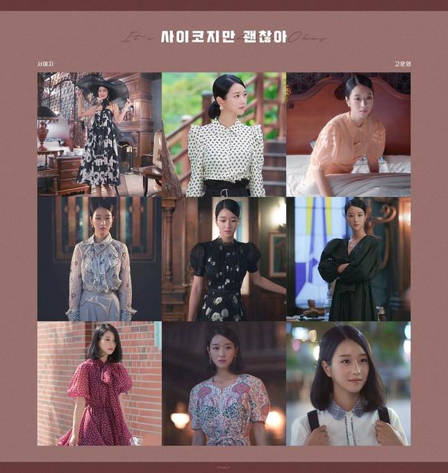 """71 bộ trang phục siêu sang chảnh làm nên tên tuổi Seo Ye Ji trong """"Điên Thì Có Sao"""" ảnh 5"""