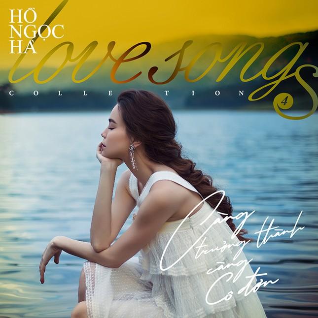 Hồ Ngọc Hà mang bầu vẫn không ngại lội xuống hồ thực hiện bộ ảnh đẹp mê hồn  cho album mới ảnh 1