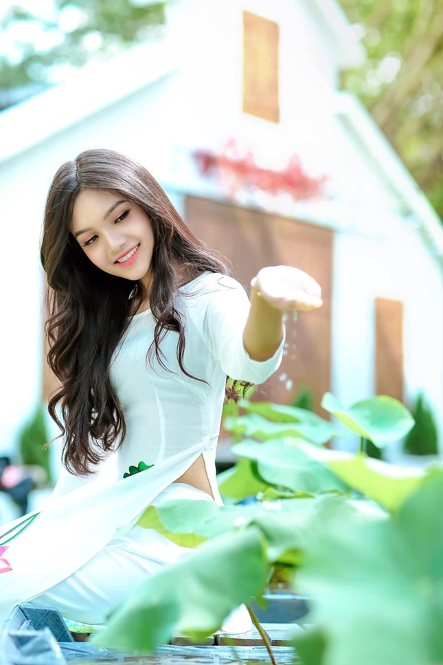 Hoa hậu Việt Nam xuất hiện thí sinh ngoại hình như búp bê Barbie, chiều cao lên tới 1m74 ảnh 5
