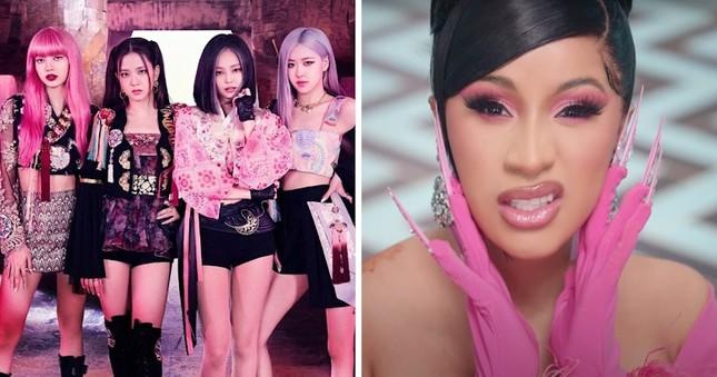 """Netizen """"soi"""" được tên của rapper Cardi B trên hình chiếc CD album sắp ra của BLACKPINK ảnh 3"""