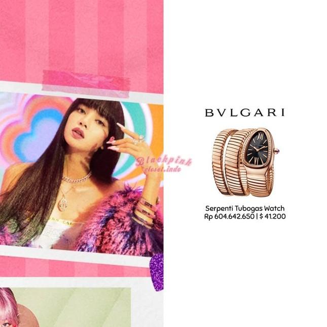 Loạt trang phục ấn tượng của Lisa (BLACKPINK) trong MV Ice Cream, có món giá trị gần 1 tỉ ảnh 3