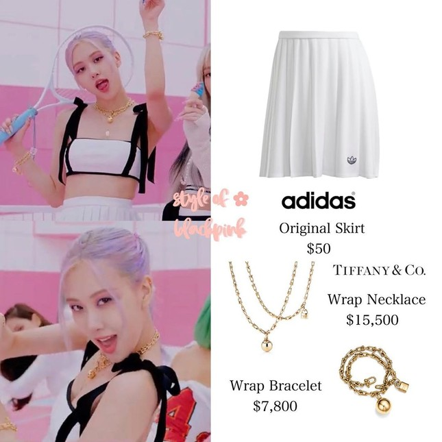 """Xem """"Ice Cream"""", netizen nể phục màn biến áo thành váy của stylist cho Rosé BLACKPINK ảnh 5"""
