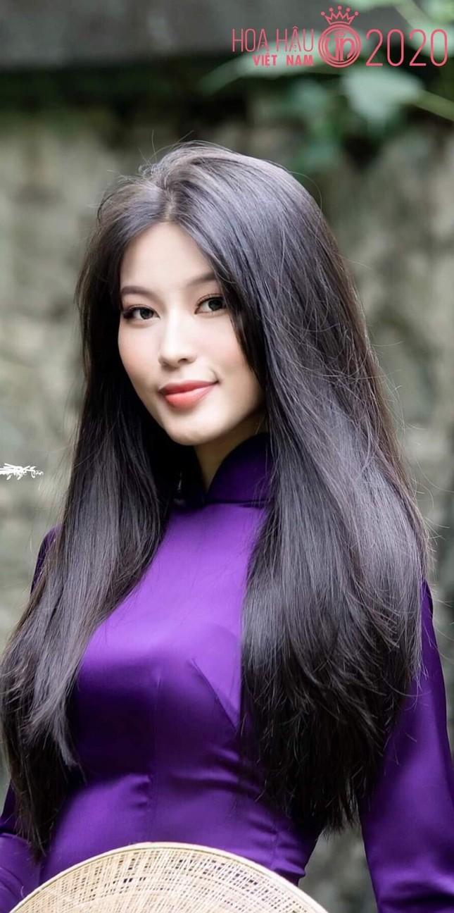 An Khương - người đẹp miền Trung của Hoa Hậu Việt Nam sở hữu mái tóc vạn người mê ảnh 1