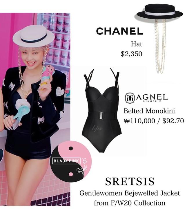 """Mix đồ bơi vào trang phục diễn, stylist có đang """"làm khó"""" cho các cô gái BLACKPINK? ảnh 2"""