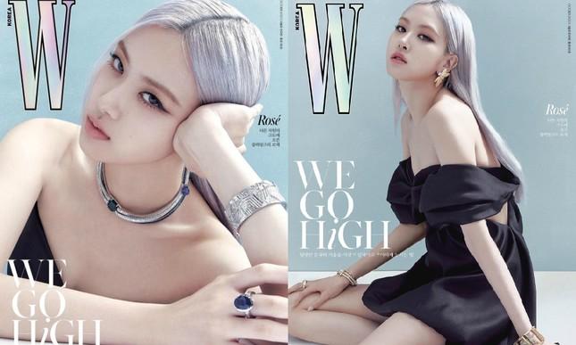 Jennie BLACKPINK gây ấn tượng với lông mày hình cánh cung sang chảnh trên tạp chí W Hàn ảnh 5