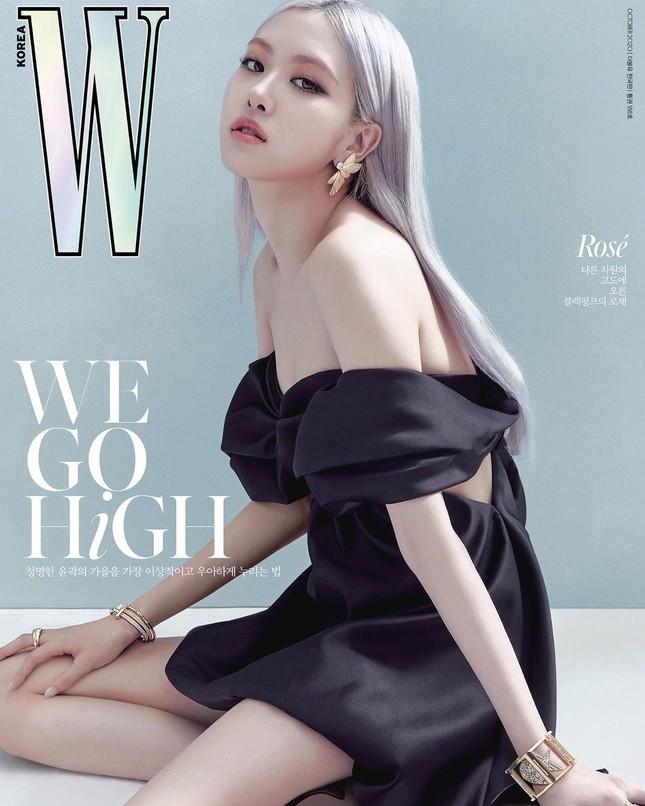 Rosé BLACKPINK xinh đẹp như một đóa hồng kiêu sa trên bìa tạp chí W Hàn tháng 10 ảnh 1
