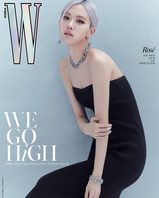 Rosé BLACKPINK xinh đẹp như một đóa hồng kiêu sa trên bìa tạp chí W Hàn tháng 10 ảnh 4