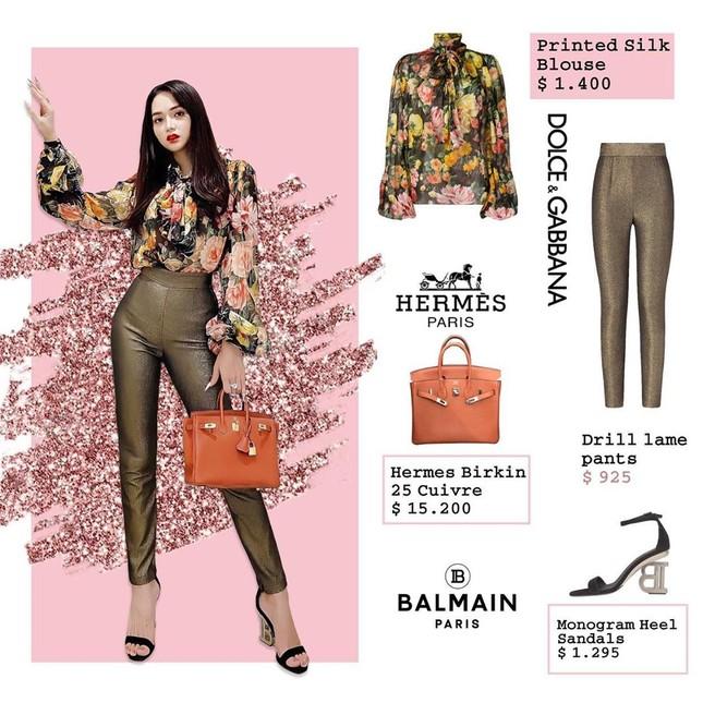 Bóc giá loạt trang phục của Hương Giang, xa xỉ thế này đến sao Hàn nhìn cũng phải sốc! ảnh 4