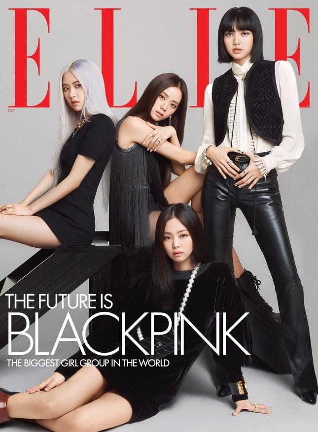 Mặc quần tất lưới cho Rosé trên ELLE Mỹ, stylist của BLACKPINK bị chê thiếu tinh tế ảnh 1