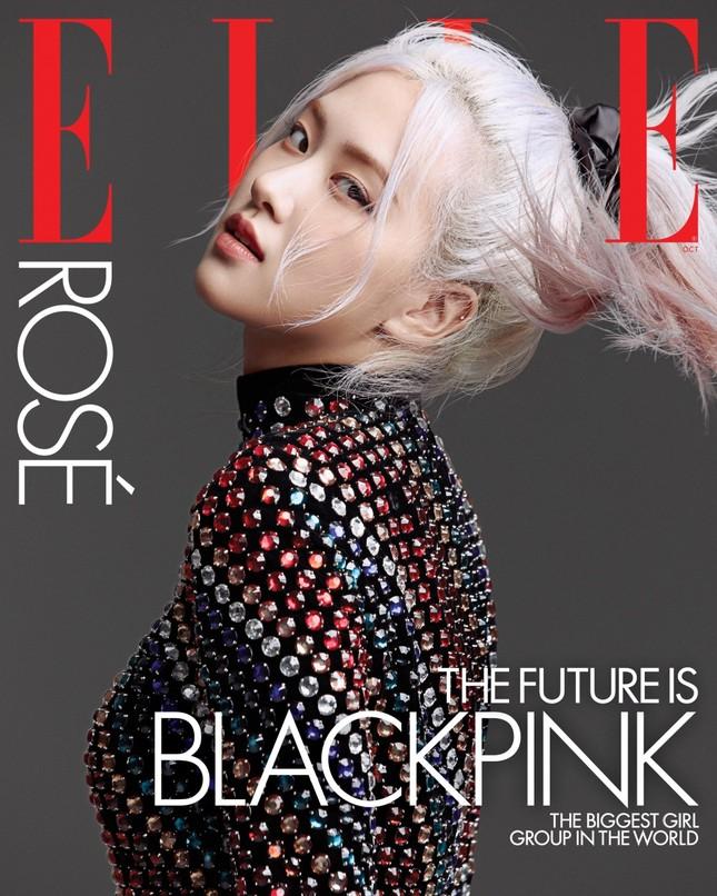 """Lên bìa ELLE Mỹ tháng 10, bốn cô gái vàng K-Pop khẳng định """"Tương lai chính là BLACKPINK"""" ảnh 7"""