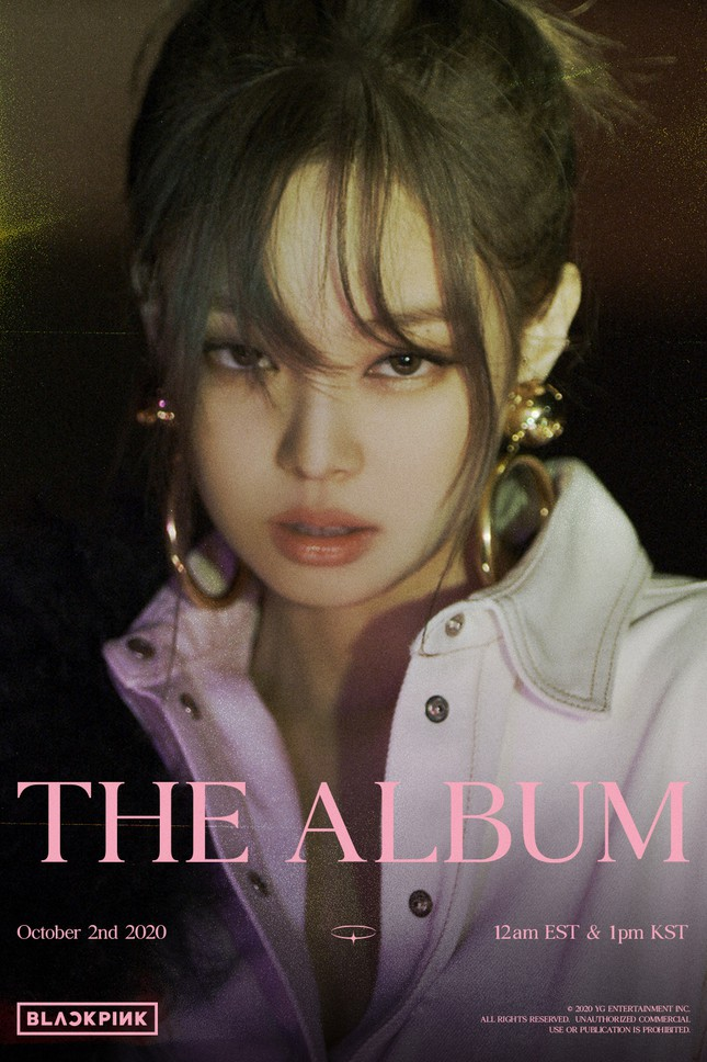 Xem teaser album mới của BLACKPINK, netizen thương đôi tai của Jennie vô cùng ảnh 1