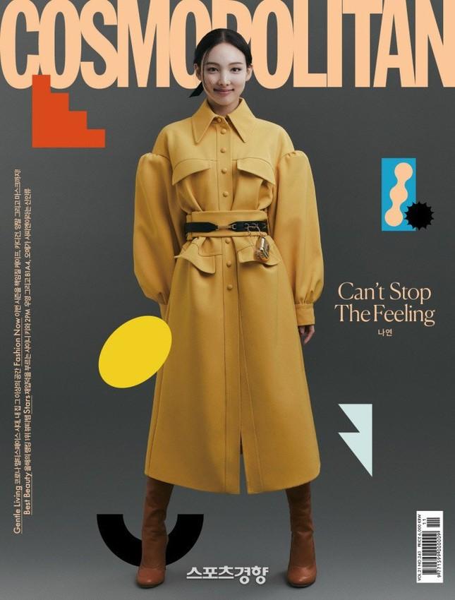 Đỉnh như Nayeon (TWICE), mặc đồ ngủ lên bìa Cosmopolitan Hàn vẫn được khen tới tấp ảnh 1