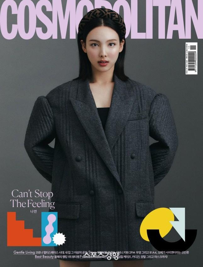 Đỉnh như Nayeon (TWICE), mặc đồ ngủ lên bìa Cosmopolitan Hàn vẫn được khen tới tấp ảnh 3