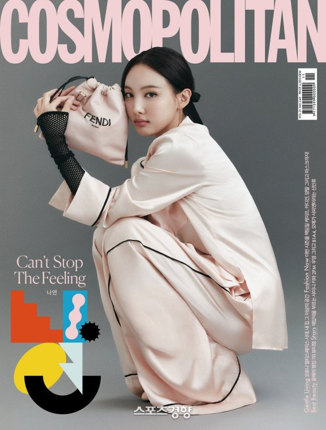 Đỉnh như Nayeon (TWICE), mặc đồ ngủ lên bìa Cosmopolitan Hàn vẫn được khen tới tấp ảnh 2