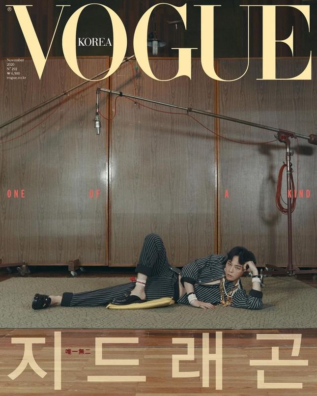 G-DRAGON lên bìa VOGUE Hàn đỉnh cỡ nào mà tạo kỷ lục đặt mua cao nhất trong lịch sử K-Pop? ảnh 1
