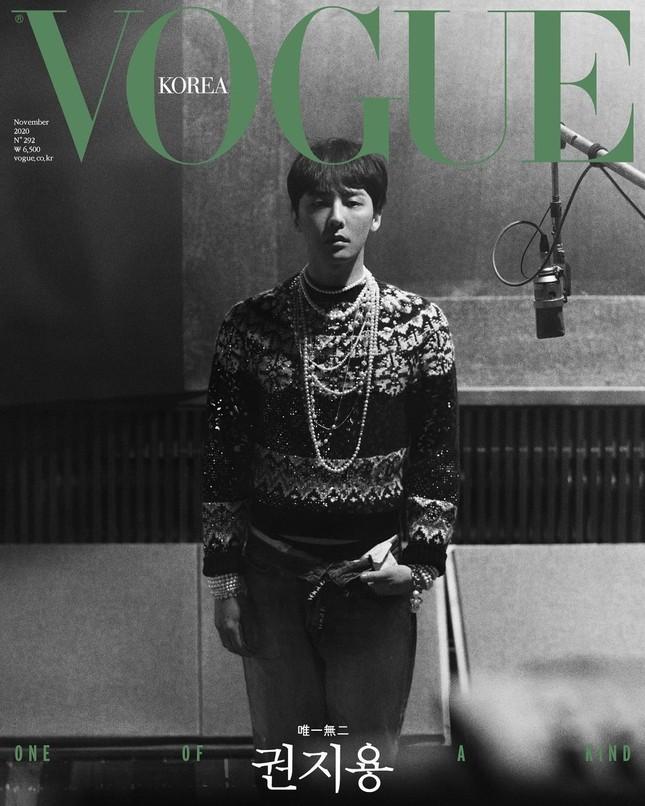 G-DRAGON lên bìa VOGUE Hàn đỉnh cỡ nào mà tạo kỷ lục đặt mua cao nhất trong lịch sử K-Pop? ảnh 2