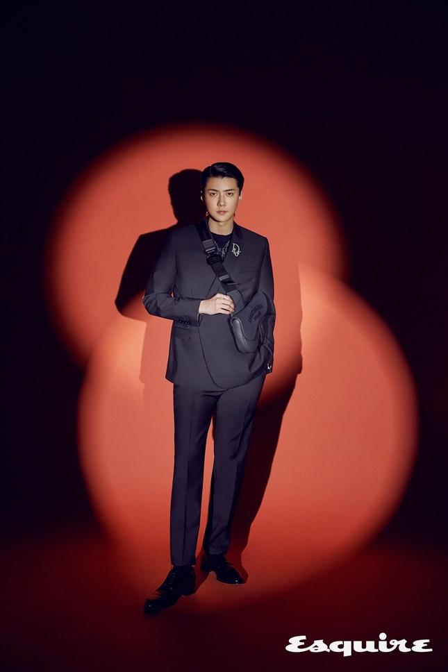 Sehun (EXO) trở thành đại sứ thương hiệu của Dior, khoe body cực phẩm trong BST Dior Men ảnh 1