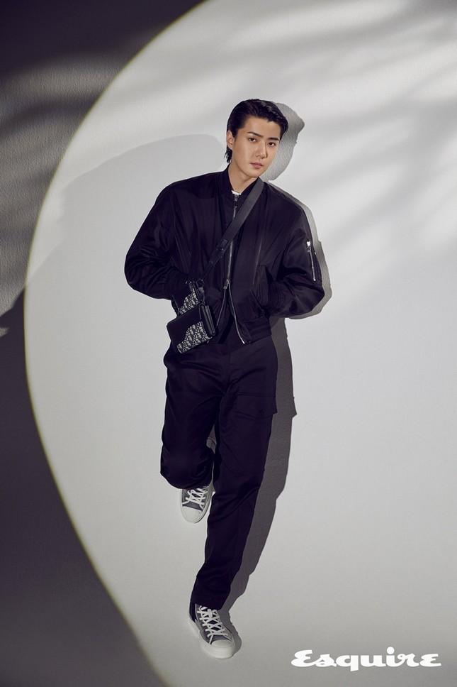 Sehun (EXO) trở thành đại sứ thương hiệu của Dior, khoe body cực phẩm trong BST Dior Men ảnh 3