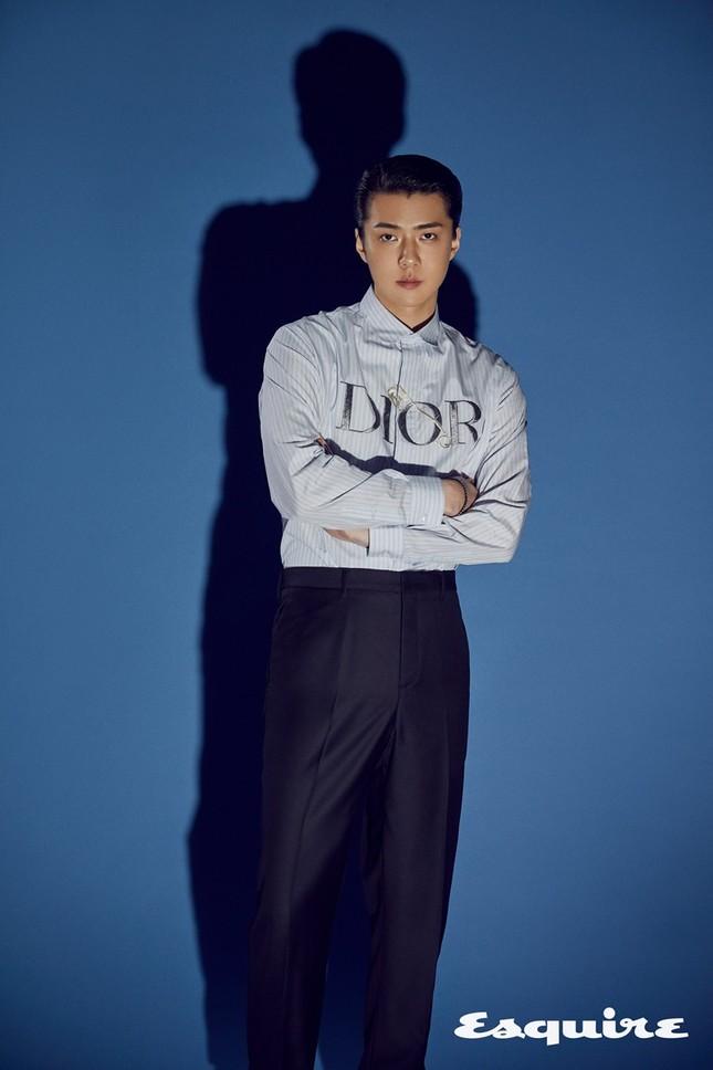 Sehun (EXO) trở thành đại sứ thương hiệu của Dior, khoe body cực phẩm trong BST Dior Men ảnh 5