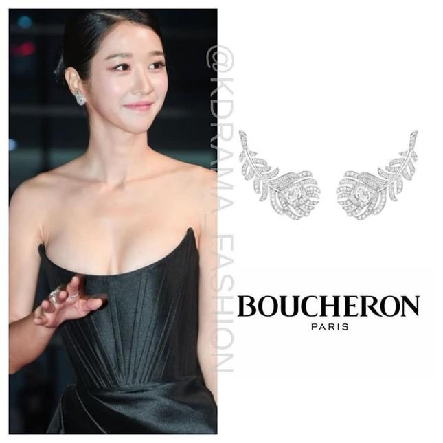 Gây sốc vì diện váy siêu gợi cảm trên thảm đỏ nhưng Seo Ye Ji lại bị chê trang điểm lỗi ảnh 4
