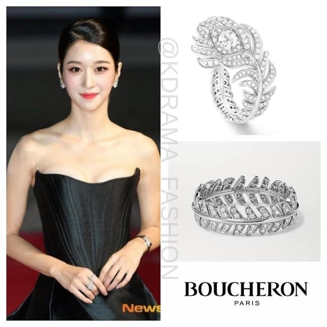 Gây sốc vì diện váy siêu gợi cảm trên thảm đỏ nhưng Seo Ye Ji lại bị chê trang điểm lỗi ảnh 5