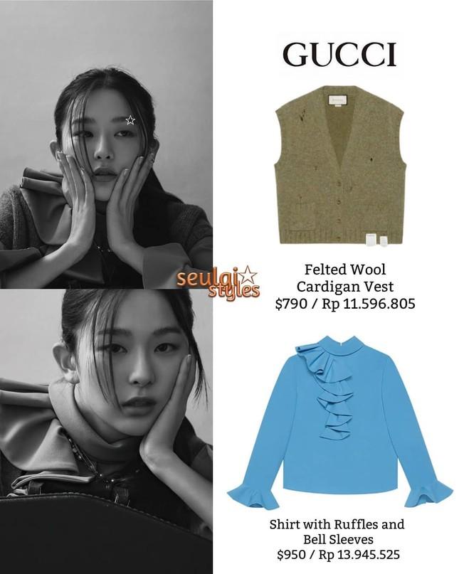 Seulgi Red Velvet gây tranh cãi vì mặc đồ ngủ trị giá 87 triệu trong loạt hình thời trang ảnh 8
