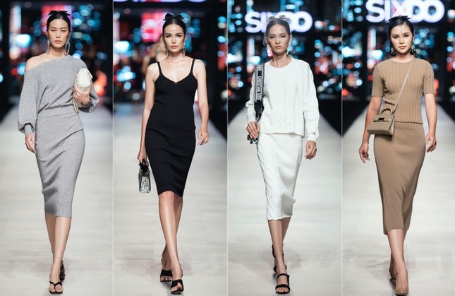Mãn nhãn với dàn Hoa hậu và người mẫu hội tụ trong show diễn thời trang siêu hoành tráng ảnh 4