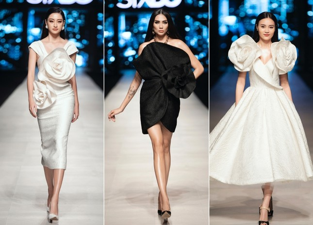 Mãn nhãn với dàn Hoa hậu và người mẫu hội tụ trong show diễn thời trang siêu hoành tráng ảnh 17