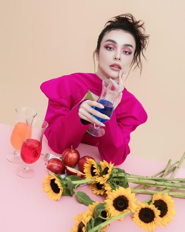 MLee khoe bộ ảnh thời trang cực chất như siêu mẫu quốc tế, mặc kín bưng vẫn nóng 100 độ ảnh 10