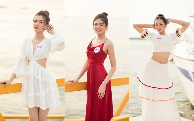 Dàn thí sinh Hoa Hậu Việt Nam 2020 khoe nhan sắc ngọt ngào trước biển trời Vũng Tàu ảnh 5