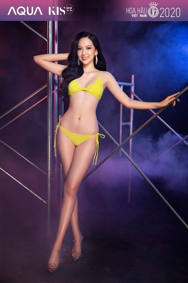 Hoa Hậu Việt Nam 2020: Ngắm body siêu hot với các số đo cực chuẩn của Top 5 Người đẹp Biển ảnh 15