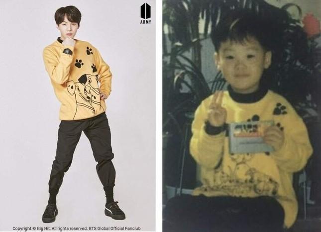 """ARMY """"phát cuồng"""" với bộ ảnh """"Bạn đã thay đổi nhiều thế nào"""" siêu dễ thương của BTS ảnh 7"""
