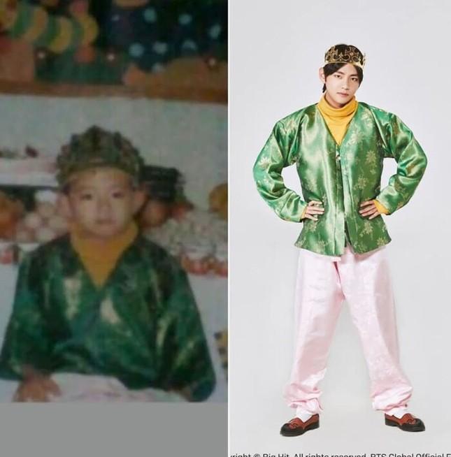 """ARMY """"phát cuồng"""" với bộ ảnh """"Bạn đã thay đổi nhiều thế nào"""" siêu dễ thương của BTS ảnh 20"""