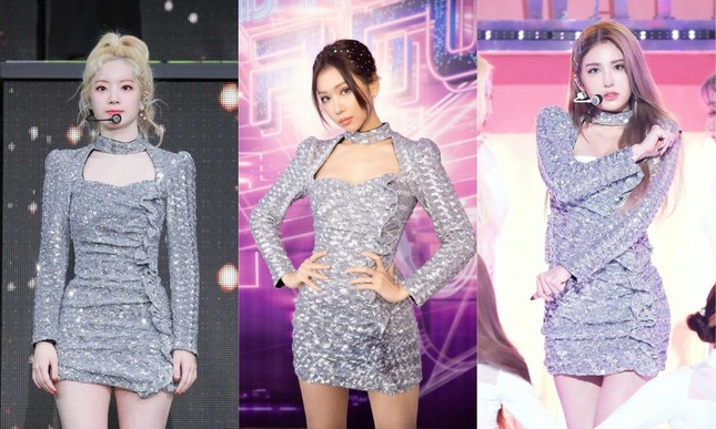 Min tự tin khoe sắc vóc khi diện váy đụng hàng 2 visual Jeon Somi và Dahyun (TWICE) ảnh 4