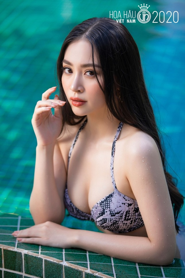 Dàn thí sinh miền Bắc của Top 35 Hoa Hậu Việt Nam 2020 khoe nhan sắc đẹp không tì vết ảnh 9