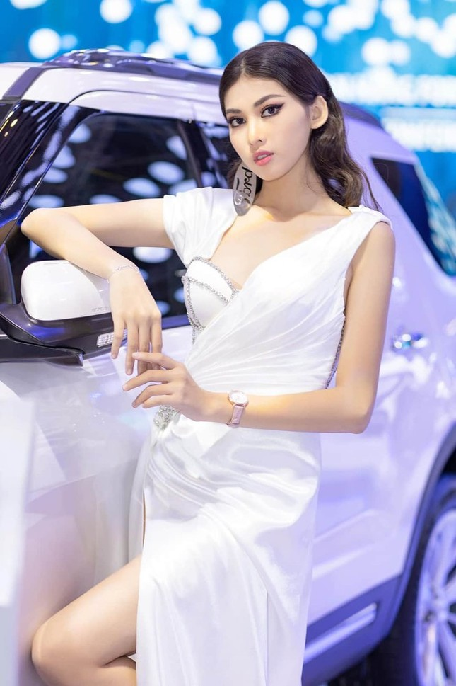Nguyễn Lê Ngọc Thảo: Cô gái lần đầu đi thi sắc đẹp đã giành luôn ngôi vị Á hậu 2 ảnh 3