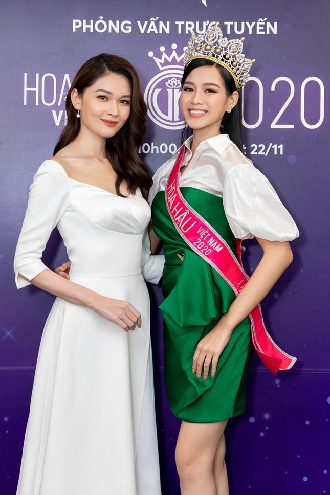 Á hậu Việt Nam 2016 Thùy Dung tiết lộ điều cô yêu mến nhất ở tân Hoa hậu Đỗ Thị Hà ảnh 1