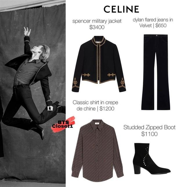 Jimin (BTS) khiến fan bị choáng khi đi đôi bốt cao 8.5cm trong loạt ảnh chụp cho Esquire ảnh 2