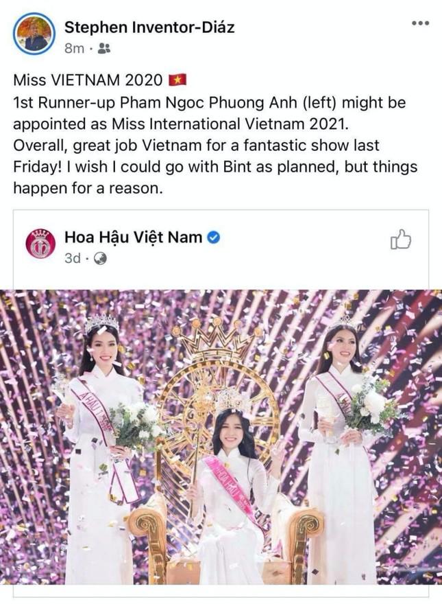 Hoa Hậu Việt Nam 2020: Á hậu Phương Anh gây chú ý trên đấu trường nhan sắc quốc tế ảnh 2