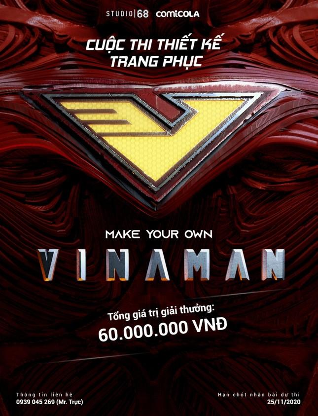 Top 25 thiết kế trang phục siêu anh hùng VINAMAN, thế này gia nhập Avengers cũng được nhỉ! ảnh 1