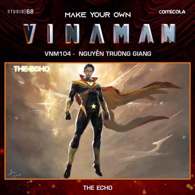 Top 25 thiết kế trang phục siêu anh hùng VINAMAN, thế này gia nhập Avengers cũng được nhỉ! ảnh 2