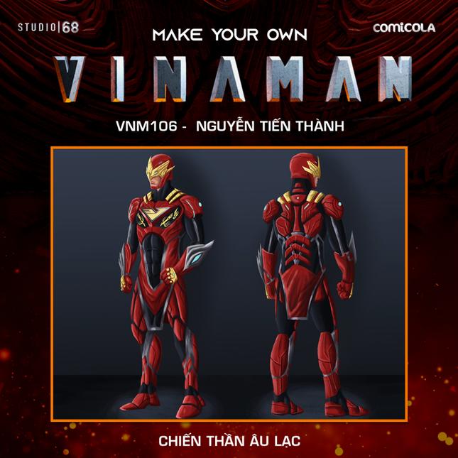 Top 25 thiết kế trang phục siêu anh hùng VINAMAN, thế này gia nhập Avengers cũng được nhỉ! ảnh 3