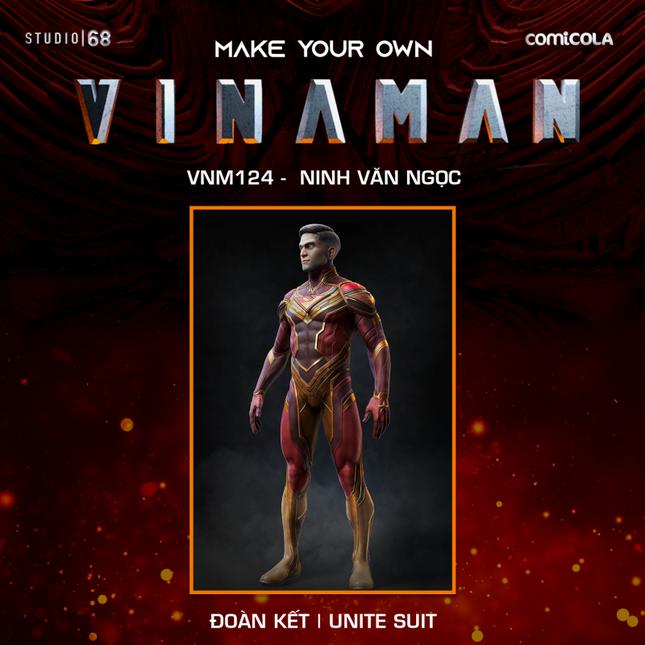 Top 25 thiết kế trang phục siêu anh hùng VINAMAN, thế này gia nhập Avengers cũng được nhỉ! ảnh 7
