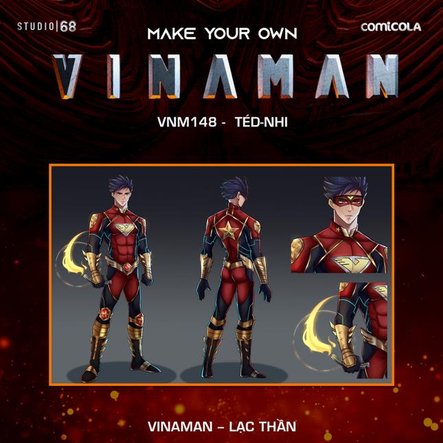 Top 25 thiết kế trang phục siêu anh hùng VINAMAN, thế này gia nhập Avengers cũng được nhỉ! ảnh 9
