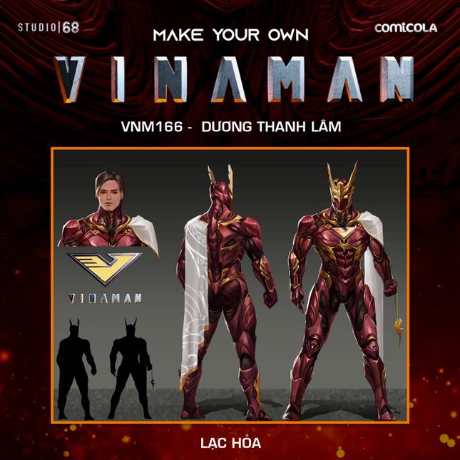 Top 25 thiết kế trang phục siêu anh hùng VINAMAN, thế này gia nhập Avengers cũng được nhỉ! ảnh 10